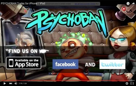 Trailer Psychoban (Mobile Game)